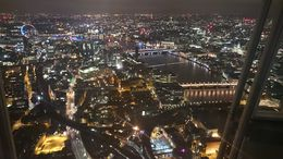 Lovely evening at The Shard - October 2015