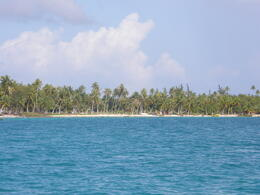 One of the atolls at Tikehau. , Tighthead Prop - December 2010