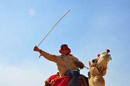 "A camel boy saying ""Hi"" at the tourists..., Genesis A - May 2010"