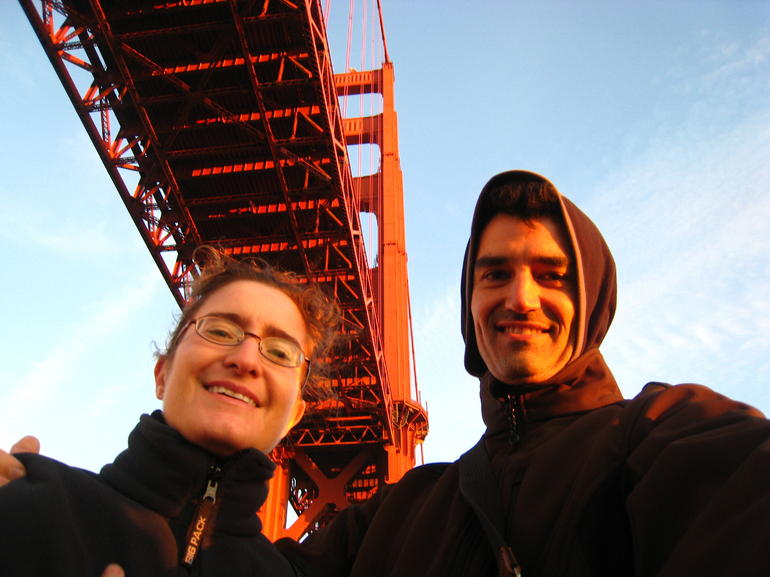 Under the Golden Gage Bridge! - San Francisco