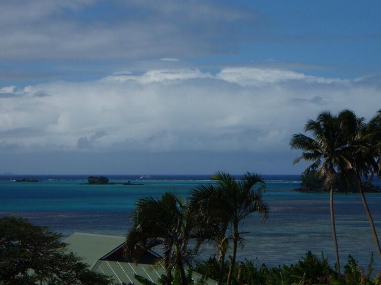 View from Taveuni airport - Fiji