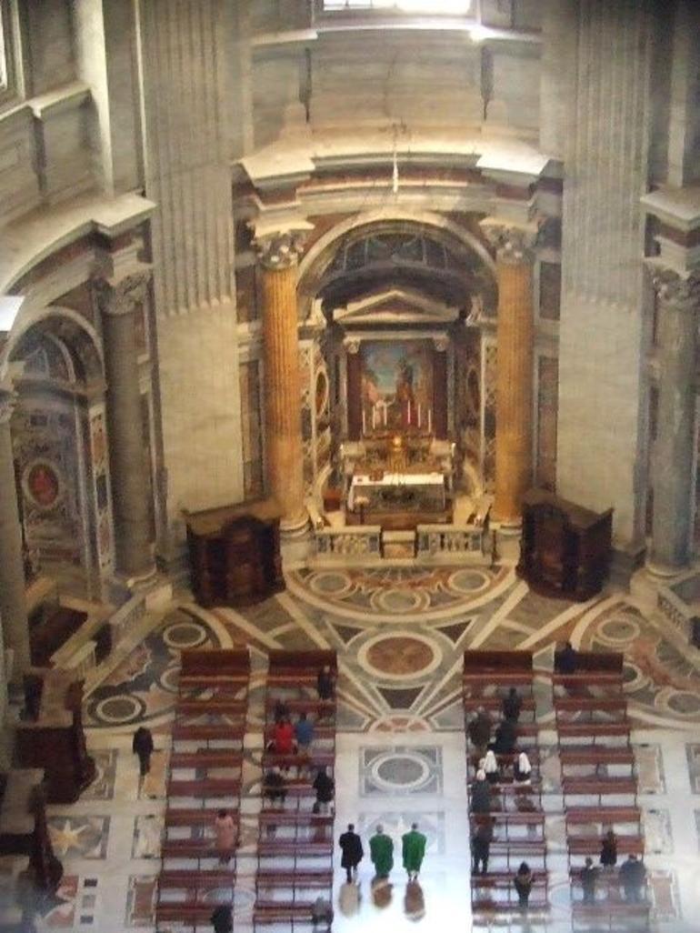 View inside Basillica - Rome