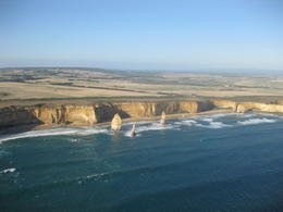 This is the view of the coastline / 12 Apostles from the helicopter flight we took as part of our GoWest Tour. Would highly recommend helicopter flight to everyone - scenery was breathtaking. , Kathleen M - April 2013