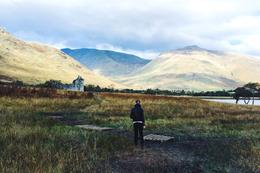 Following my boyfriend to get a closer look at Kilchurn castle. , Zachary.McCormack - October 2016