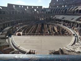 Colosseum tour , Sandra C - August 2017