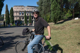 Possibly, the most fun we've had in a long time! Worth every penny! We saw so many historical places and ate at a wonderful little cafe in Trastevere! I used an electric bike - loved it. My..., lorieb - October 2014