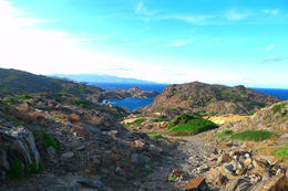 Walking the winding road towards the lighthouse, you can see miles of incredible rock formations and the stunning, preserved coast of Cadaques. , Barbara R - November 2012