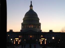 Capitol at night , Mayelin C - April 2014