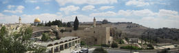 A view of some of the Old City of Jerusalem. , Thurman - August 2012