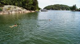 Perfect swimming weather - June 2014