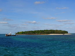 The island is bigger than it looks. , Kevin F - June 2014