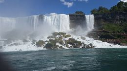 Niagara Falls from Boat View , fana2060 - August 2016