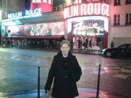 My wife on our 30th wedding anniversary night out at the Moulin Rouge. , James C - December 2014
