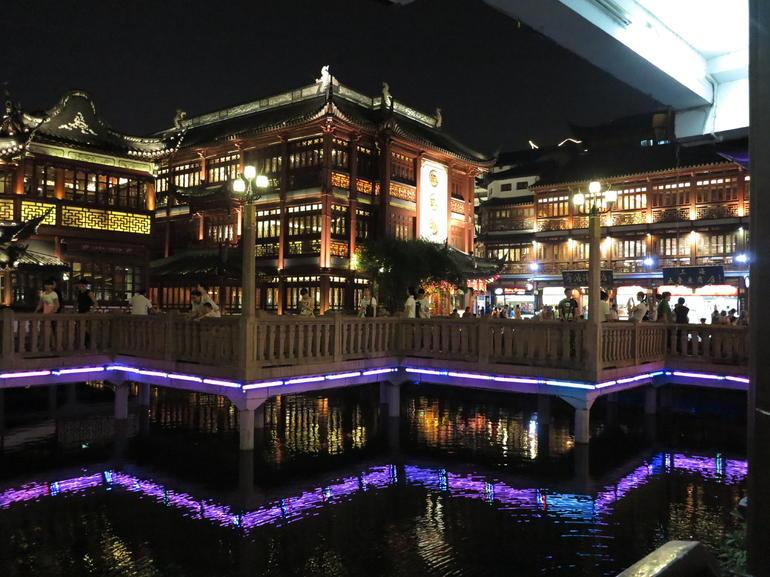 Old Town Shanghai by night - Shanghai
