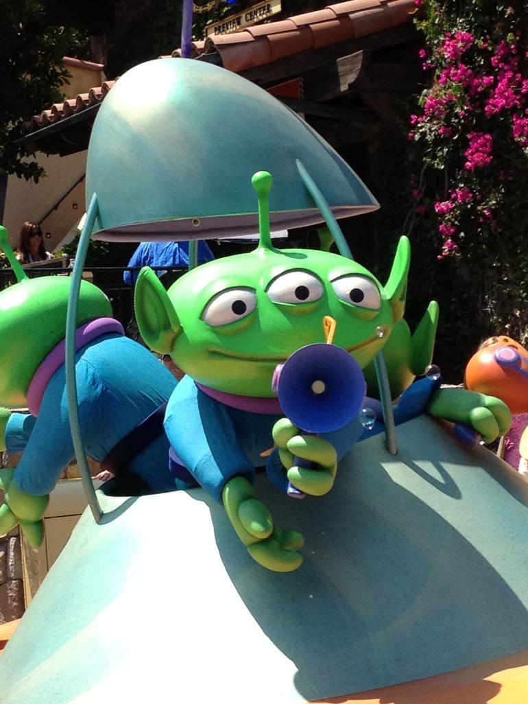 Pixar Play Parade - Los Angeles