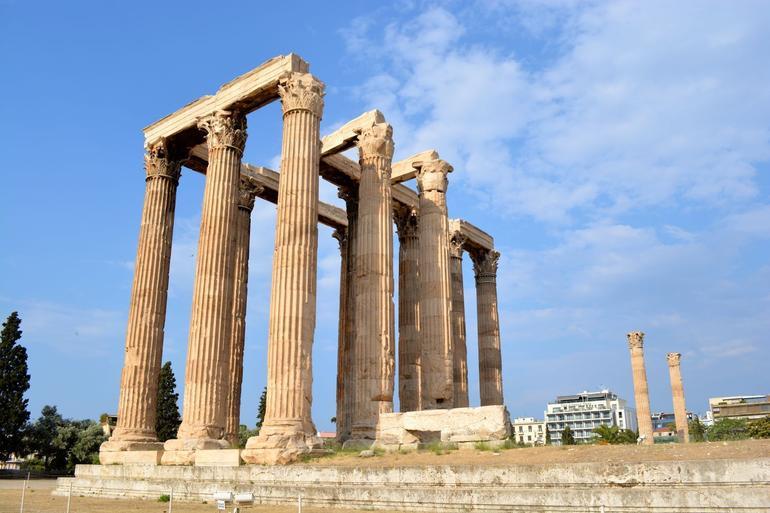 Roman Temple of Olympian Zeus - Athens
