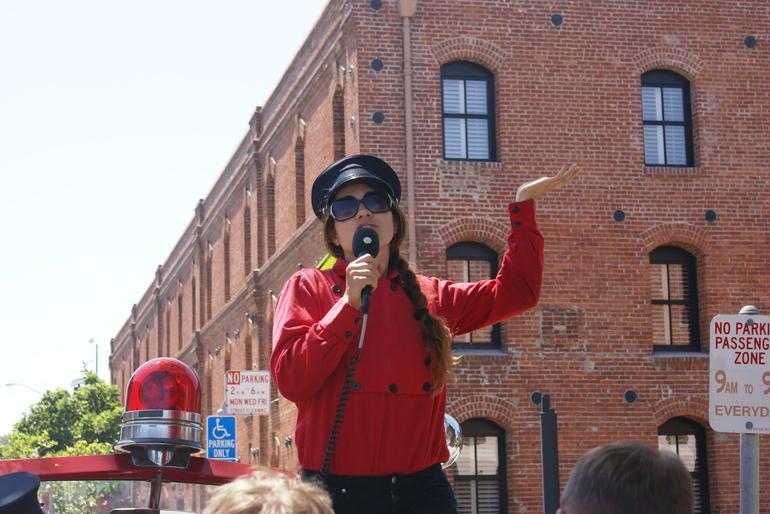 San Francisco Fire Engine Tour - San Francisco