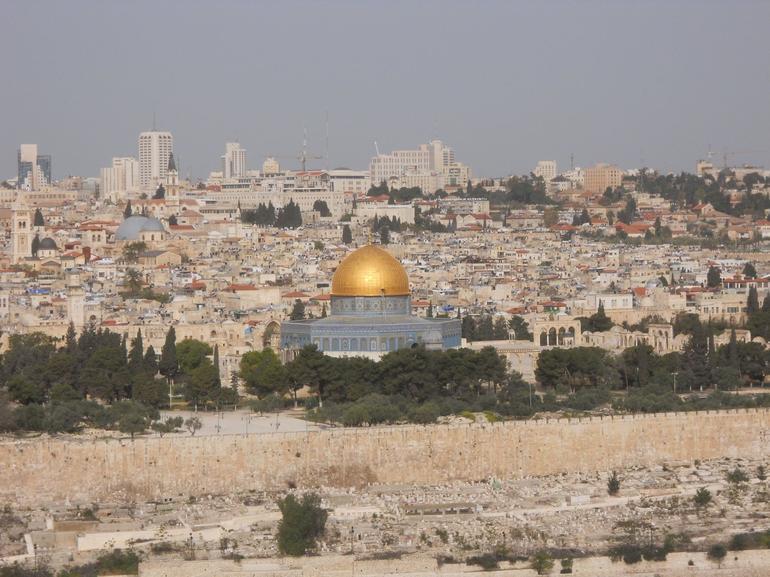 View of Dome of the Rock, Jerusalem - Jerusalem