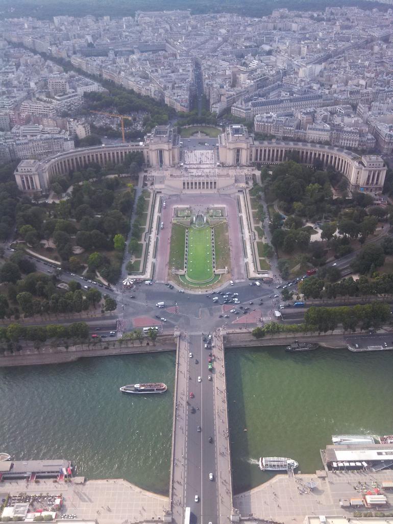 Vista de la 3er planta de la torre Eiffel - Paris