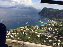 the view of Capri from the bus , Anita B - June 2017