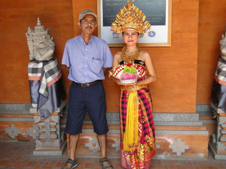At the Barong Dance - Bali