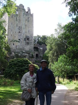 Mario and Anna at Blarney Castle, Ireland, during the Blarney Castle and Cork Day trip from Dublin , Mario S - October 2013