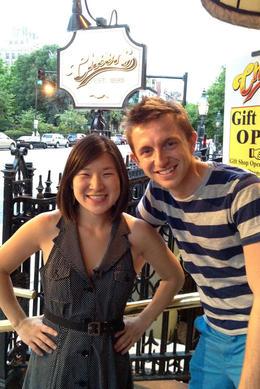 Jules & Brock at Cheers, Jules & Brock - July 2012