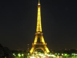 Night at the Eiffel Tower, Paris., Ernie G - May 2010