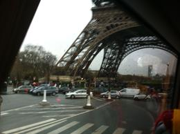 I photographed the tower base , from the bus, when ending the Road tour. , Anwar Hussain F - January 2012