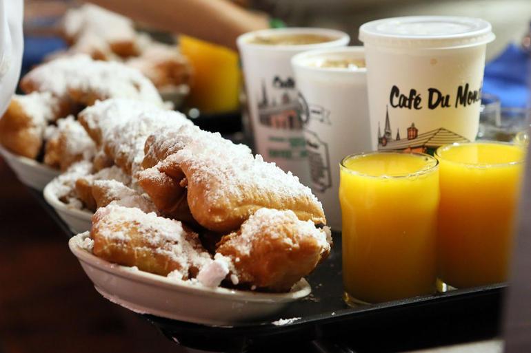 Famous beignets - New Orleans