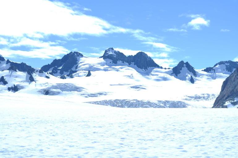 Fox Glacier View from Helicopter Snow Landing - Franz Josef & Fox Glacier