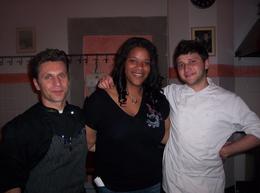 Chef Roberto, Shalonda, and Chef Alessandro., Shalonda S - June 2010
