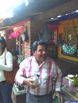Everywhere you go in Mexico City the people are very warm and friendly. Also, to warm you up for the sale they offer beer, tequila and of course tacos. They are very funny and have wonderful ... , Thao E - November 2012