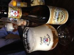 We had this beer with a small snack of frites topped with Mayo and Celery Salt - very good!, Balti-most - May 2012
