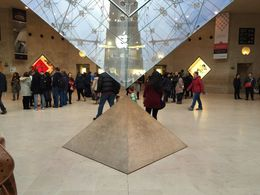 Main Entrance to Louvre Museum , Patrick v - January 2016