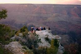 We got our group onto this ledge which was amazing, World Traveler - October 2012