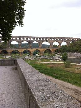 A lovely walk toward the Pont du Gard. , Sue D - May 2014