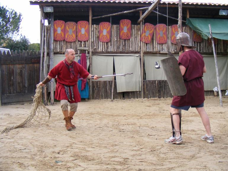 Steve in combat - Rome