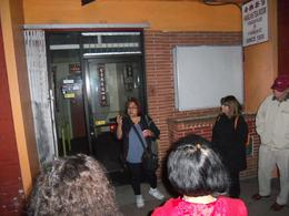 One of the Ghost Tour guides! , Sally S - November 2013
