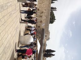 A visit to the Western Wall , Stephanie G - April 2015