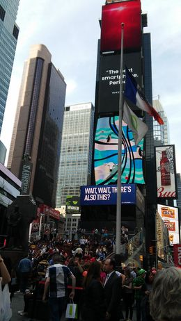 Times Square , Sharon A - August 2016