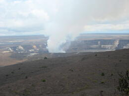 This is as close as we got to the volcano , Lynnette A - June 2013