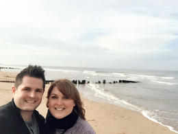 This is us at Juno Beach! , Natalie G - November 2016