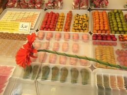 Marzipan pigs and alligators at the open market! , Sumana D - June 2017