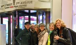 Macy's Department Store with Creative Journal Expressive Arts friends , Marsha Nelson,Ph.D. - December 2017