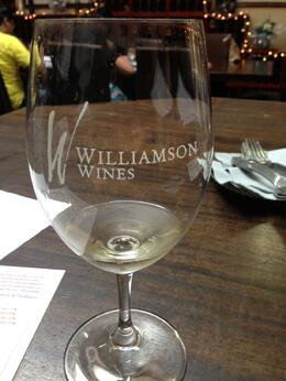 All tastes came in their Williamson branded stemware, Trina Tron - January 2014