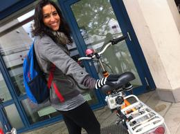 Biking in Berlin, Ryan & Asha - September 2012