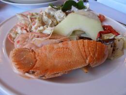 Buffet lunch , April H - September 2012