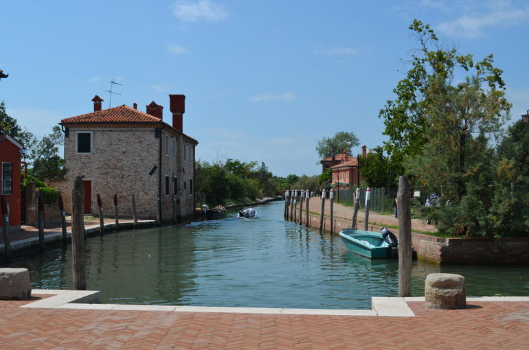 Canal to lagoon, Torcello - Venice