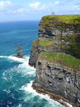 The cliff walk along the Cliffs of Moher was one of the many highlights of this tour. , Kevin F - August 2014